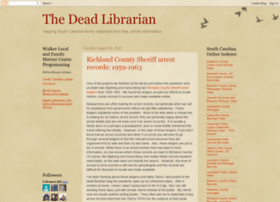 thedeadlibrarian.blogspot.com
