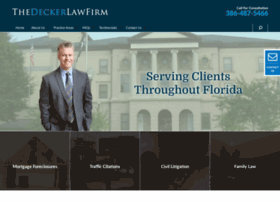 thedeckerlawfirm.com