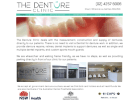 thedentureclinic.com.au