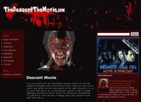 thedescentthemovie.com