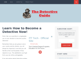 thedetectiveguide.com