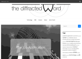 thediffractedword.org