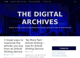 thedigitalarchives.com