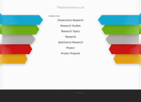 thedissertation.co.uk