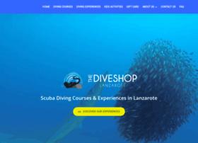 thediveshoplanzarote.com