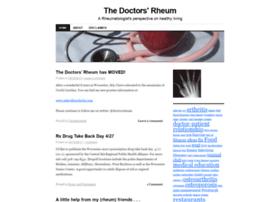 thedoctorsrheum.wordpress.com