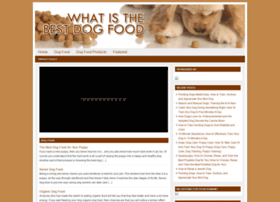 thedogfoodinfo.org