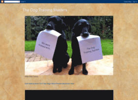 thedoghousetrainingmaster.blogspot.com