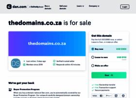 Thedomains.co.za