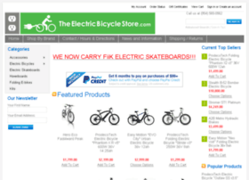 theelectricbicyclestore.com