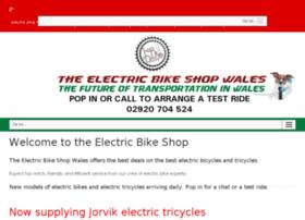 theelectricbikeshopwales.co.uk
