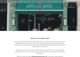 theenglishrosecafe.co.uk