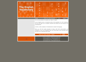 theenglishvocabulary.com
