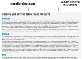 theevilproject.com