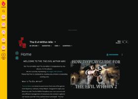 theevilwithin.gamepedia.com