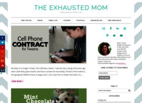 theexhaustedmom.com