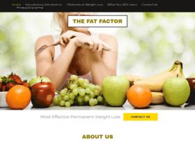 Thefatfactor.com
