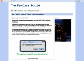 thefearlessscribe.blogspot.com
