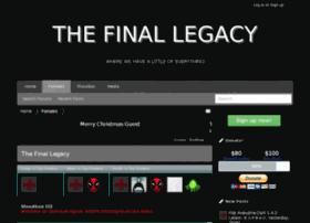 thefinallegacy.com