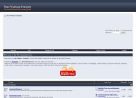 thefinanceforums.com