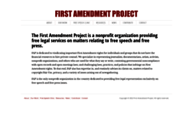 thefirstamendment.org