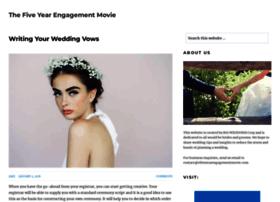 thefiveyearengagementmovie.com
