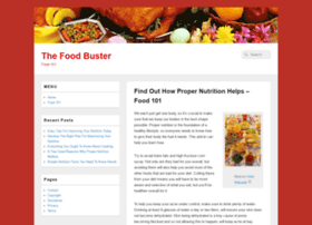 thefoodbuster.com