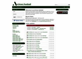 thefootballarchives.com