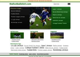 thefootballshirt.com