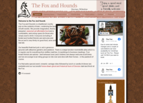 thefoxandhoundsdevizes.co.uk
