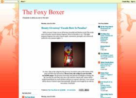thefoxyboxer.blogspot.com