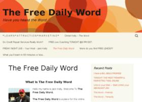 thefreedailyword.com