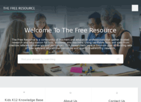 thefreeresource.com