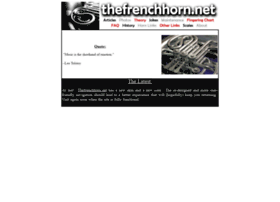 thefrenchhorn.net