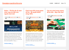 thegalaxycauldronforums.com
