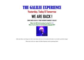 thegalileeexperience.com