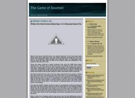 thegameofbaseball.blogspot.com