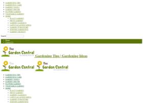 thegardencentral.com