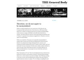 thegeneralbody.org