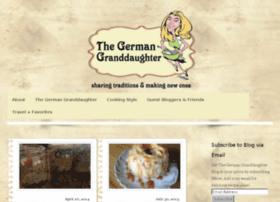thegermangranddaughter.com