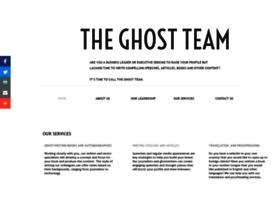 theghostteam.com