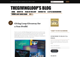 thegivingloop.wordpress.com