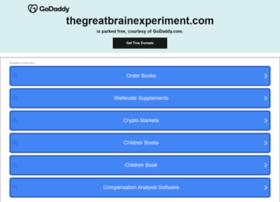 thegreatbrainexperiment.com