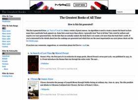 thegreatestbooks.org