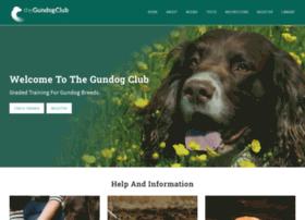 thegundogclub.co.uk