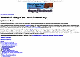 thehammondorganstory.com
