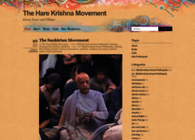 theharekrishnamovement.org