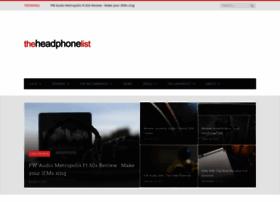 theheadphonelist.com