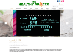 thehealthygrocer.com