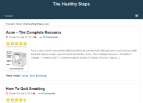 thehealthysteps.com